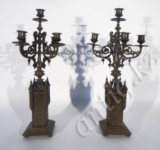 candelabra in the form of towers in the twentieth - photo 2