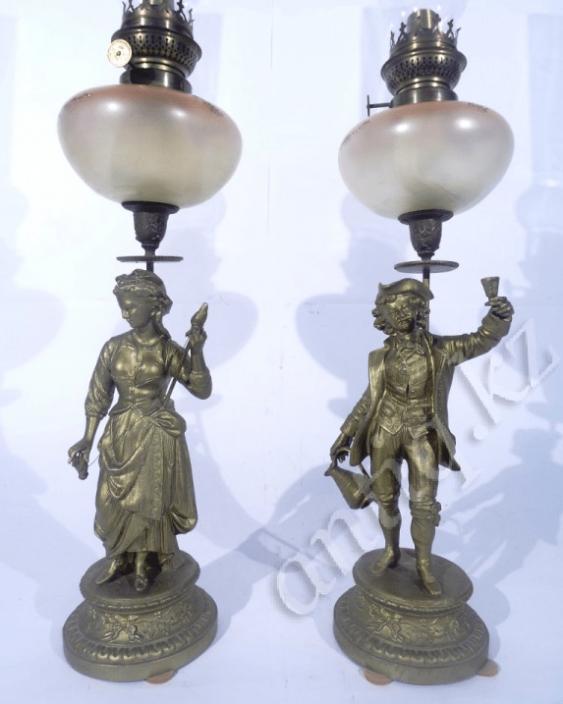 Pair of lamps Europe, beginning of XX century - photo 1