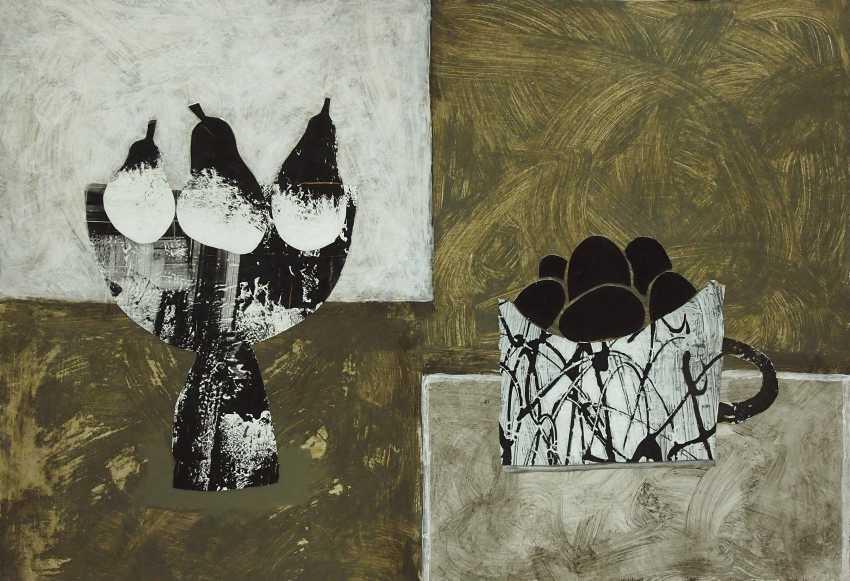 Radik Garifullin. Still Life with Pears and Eggs - photo 1