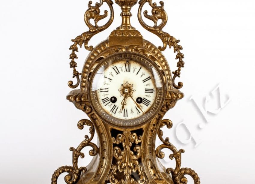 Bronze clock garnitur - photo 3