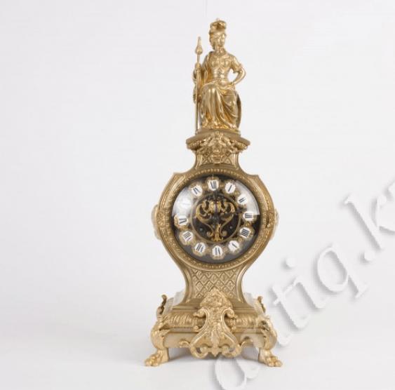 Mantel clock Beginning of the twentieth century. - photo 1