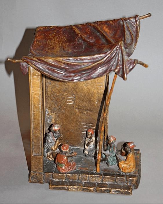 Lamp.Vienna, Austria, end of XIX century, bronze - photo 1