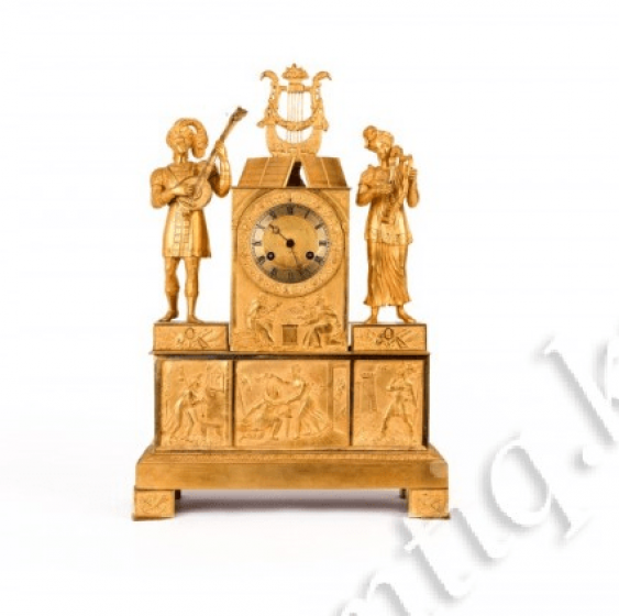 Clock in Empire style - photo 1