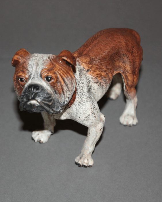 "The statuette ""Bulldog""Vienna, Austria, end of XIX century, bronze, - photo 2"