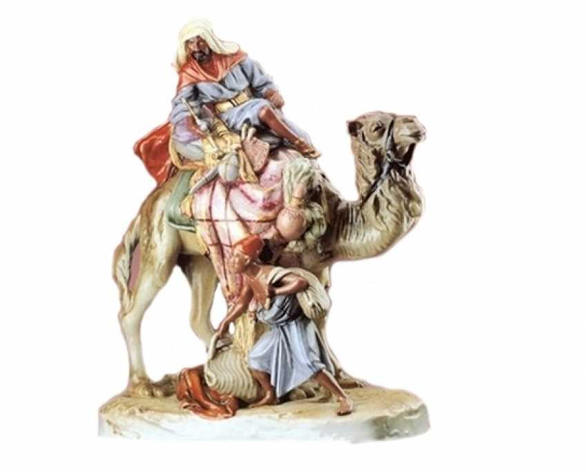"Porcelain figurine ""Arab"" - photo 1"