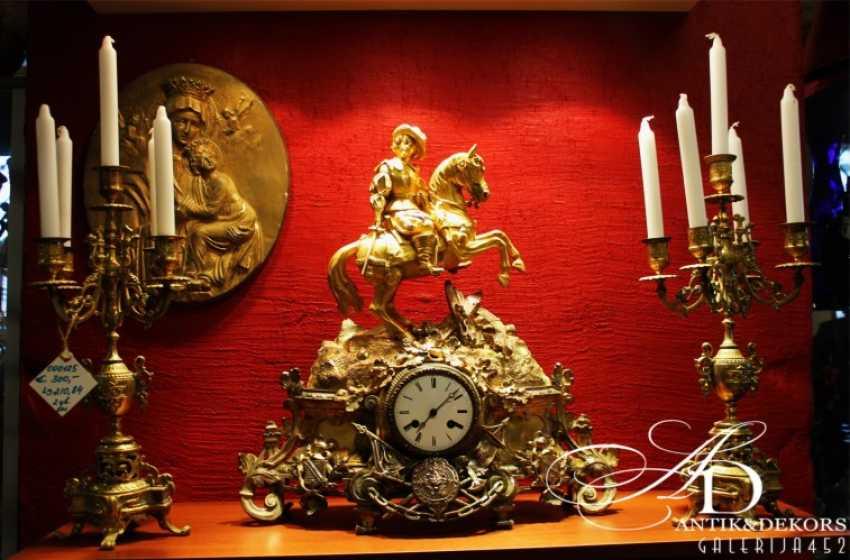 Mantel clock 19th century - photo 1