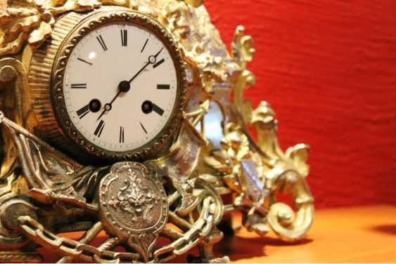 Mantel clock 19th century - photo 3