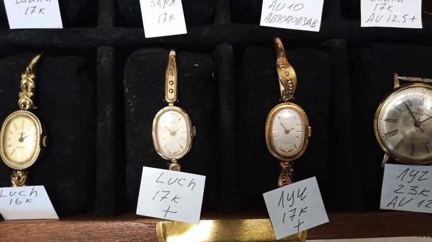 Wrist watches for women and men, watch-pendant - photo 3
