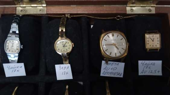Wrist watches for women and men, watch-pendant - photo 5
