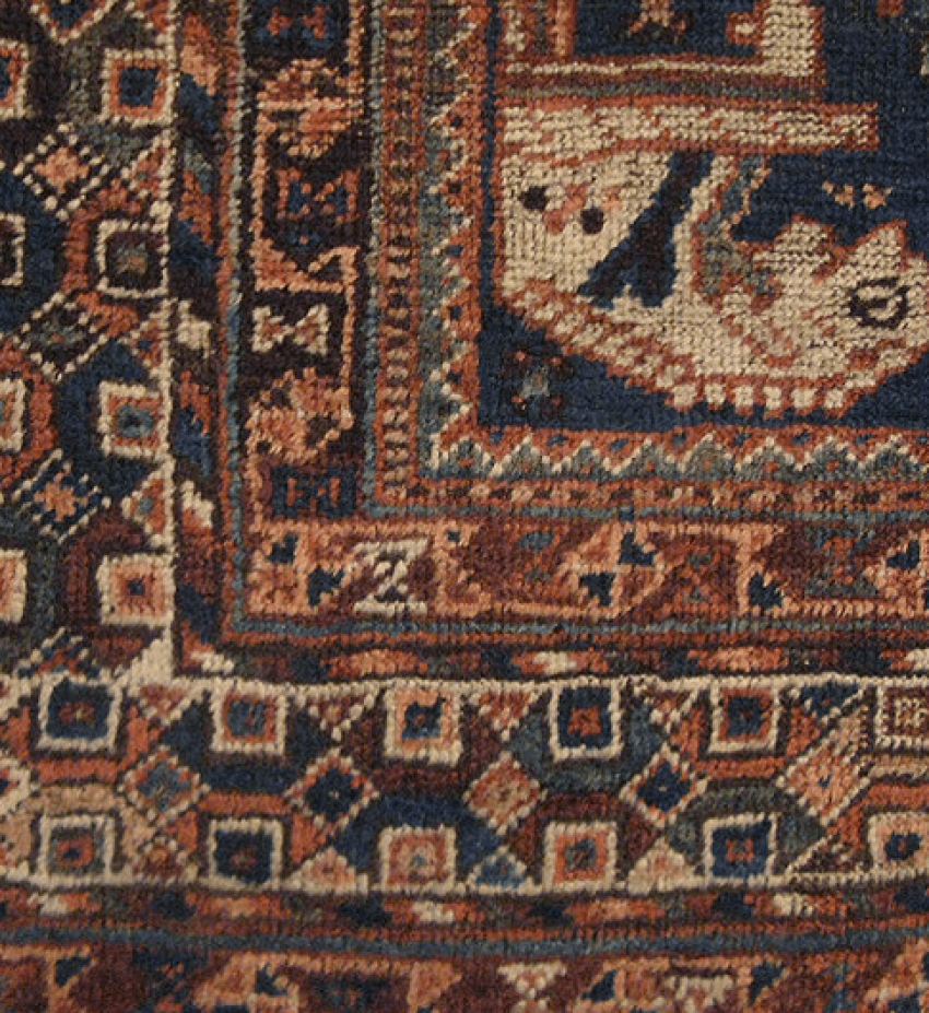 "Carpet ""Qashqai"" twentieth century 50 years - photo 3"