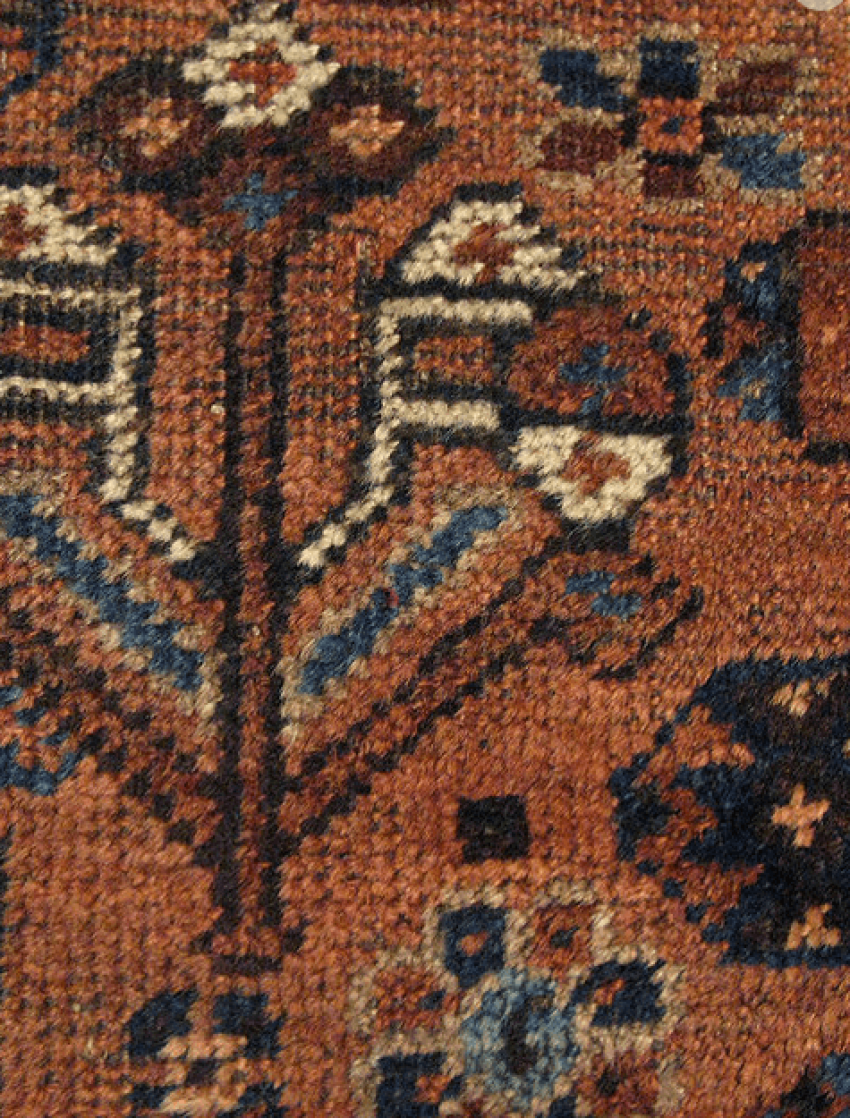 "Carpet ""Qashqai"" twentieth century 50 years - photo 4"