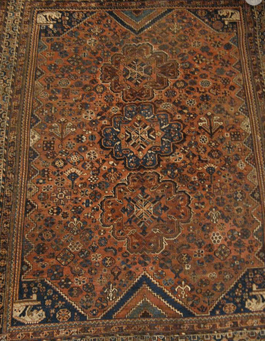 "Carpet ""Qashqai"" twentieth century 50 years - photo 1"