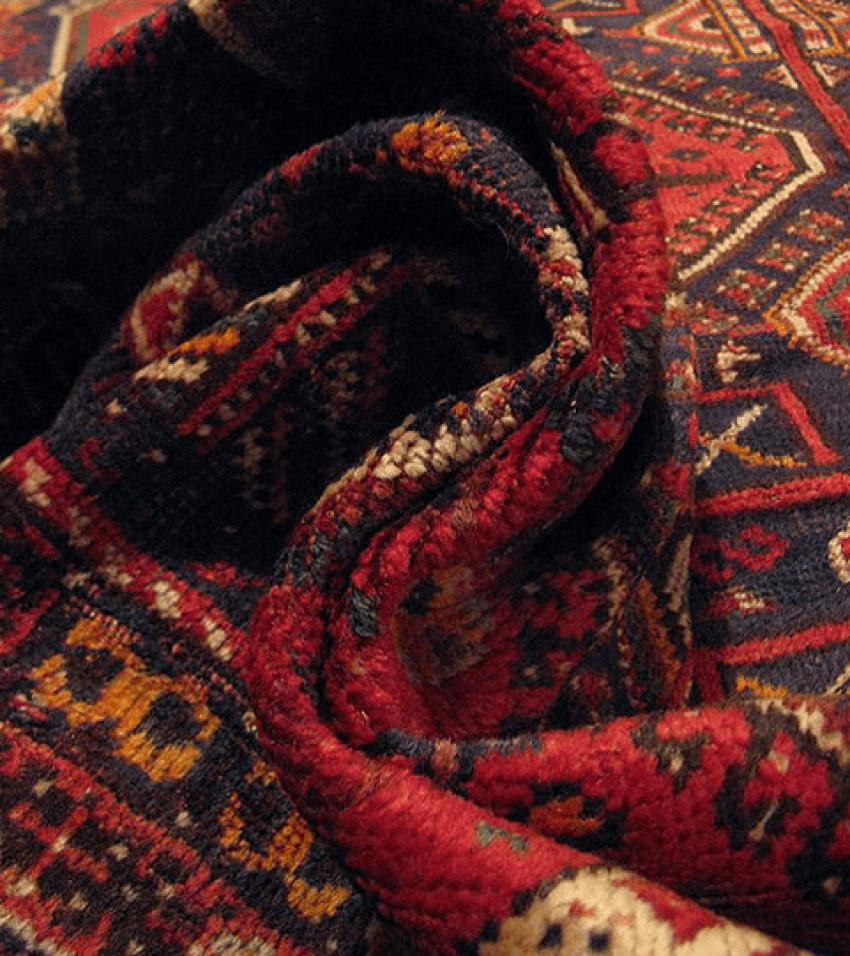 "Carpet ""Qashqai"" of the twentieth century, 50 years - photo 2"