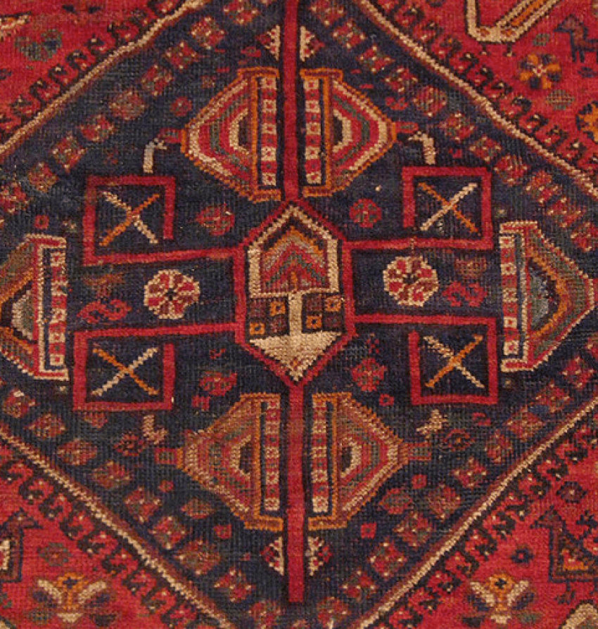 "Carpet ""Qashqai"" of the twentieth century, 50 years - photo 3"