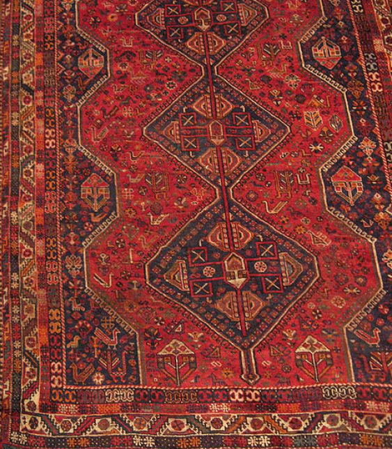"Carpet ""Qashqai"" of the twentieth century, 50 years - photo 1"