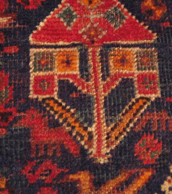 "Carpet ""Qashqai"" of the twentieth century, 50 years - photo 5"
