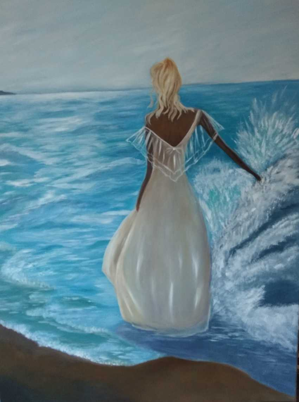 IRINA MELNIK. Girl and sea - photo 1