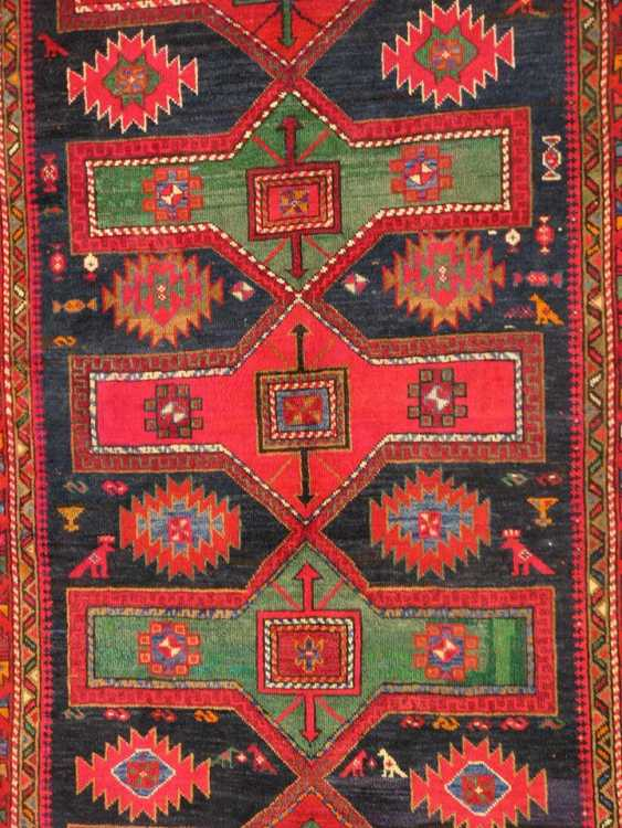 "Antique Azerbaijan carpet ""Cirakli"" 20-30 years of the twentieth century. - photo 1"