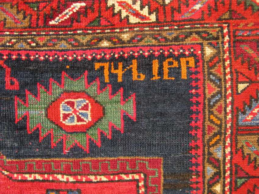 "Antique Azerbaijan carpet ""Cirakli"" 20-30 years of the twentieth century. - photo 4"