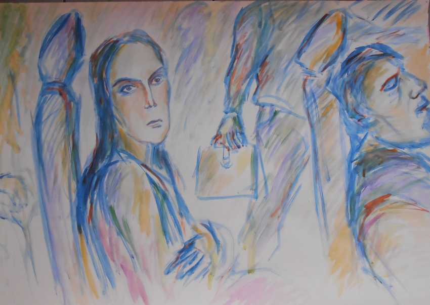 Igor Behter. Girl on the bus - photo 1