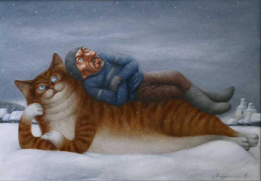 """Vladimir Safronov. """" 1. Januar"""" - Foto 1"""