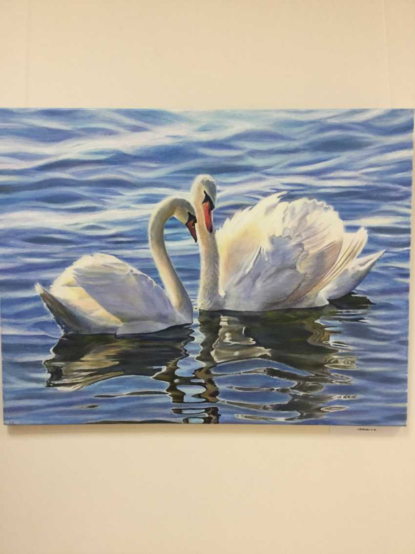 Luidmila Vasilieva. Swans - photo 1