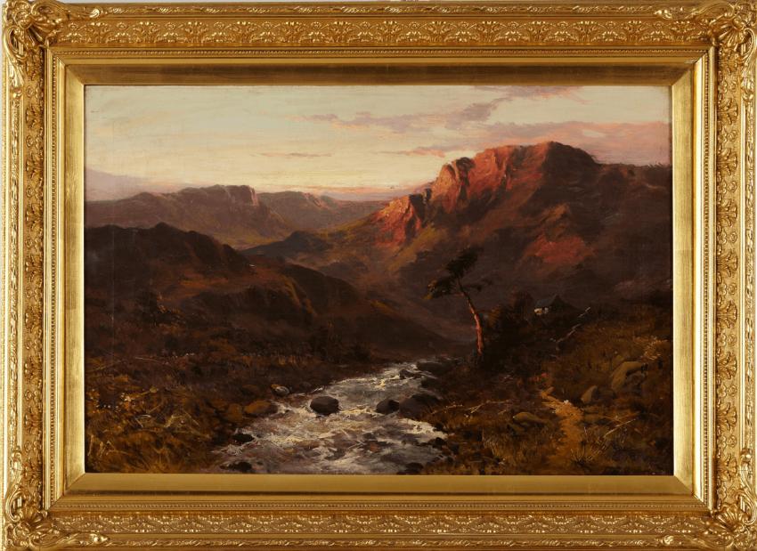 Landscape with рекой1907Европа - photo 1