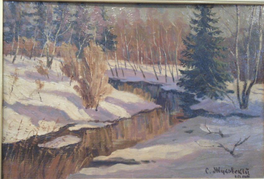 Spring, S. Y. Zhukovsky. 1902 - photo 2