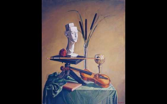 Andrey Allakhverdov. Nature morte avec un violon. - photo 1