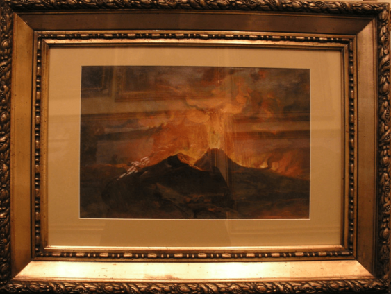 """""""Vesuvius"""" by I. S. Izhakevich the 1930-ies - photo 1"""