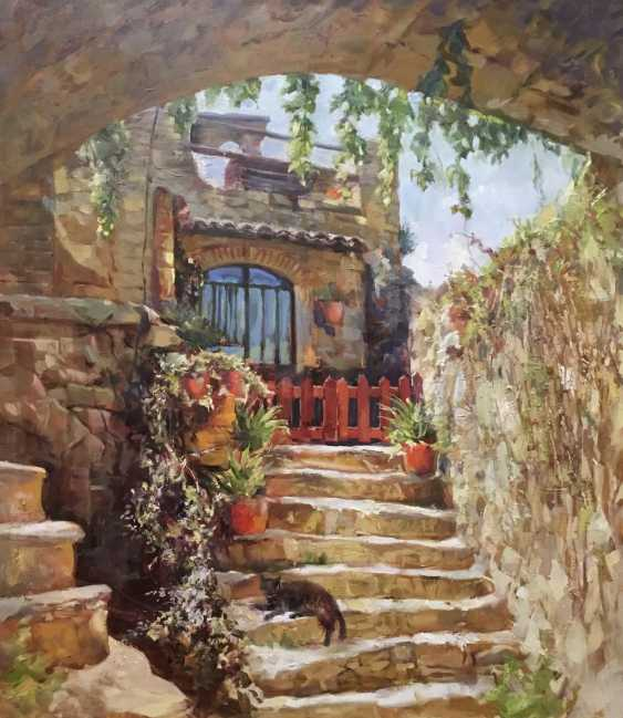 Fedor Yudin. Sunny patio - photo 1
