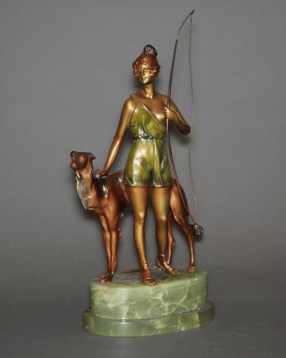 "The Sculpture ""Diana""Vienna, Austria, 1930 - photo 1"