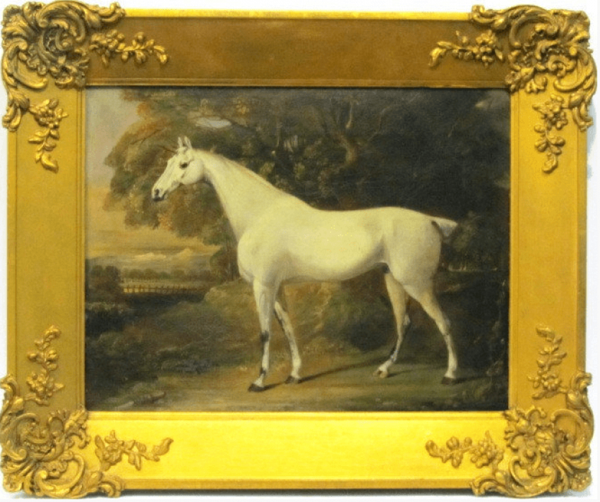 The white horse of the XVIII-th century - photo 1