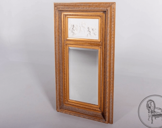 Mirror with marble, XIX century - photo 1