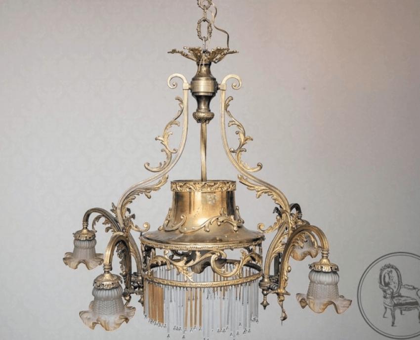 Lamp twentieth century France - photo 1
