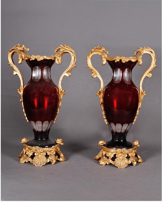 Vases pair France, 1830 - 1840 years - photo 1