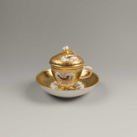 A couple of tea f-ka Gardner , late 18th-early 19th century - photo 1