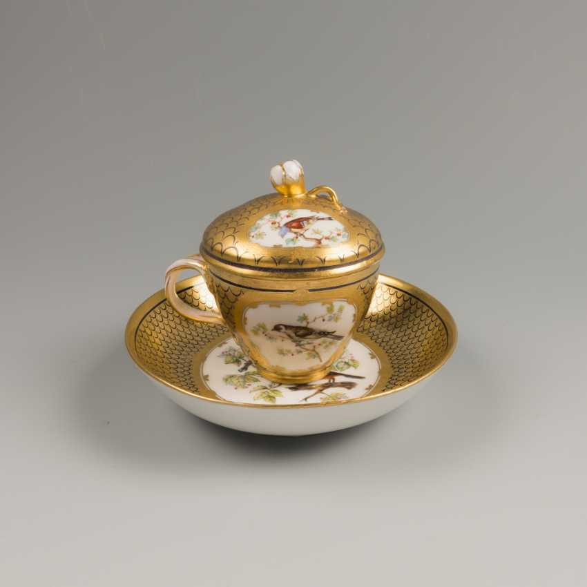 A couple of tea f-ka Gardner , late 18th-early 19th century - photo 2