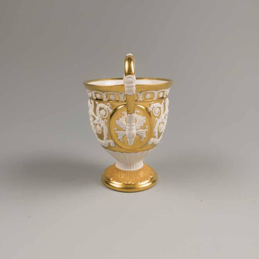 Cup and saucer KPM 19th century - photo 2
