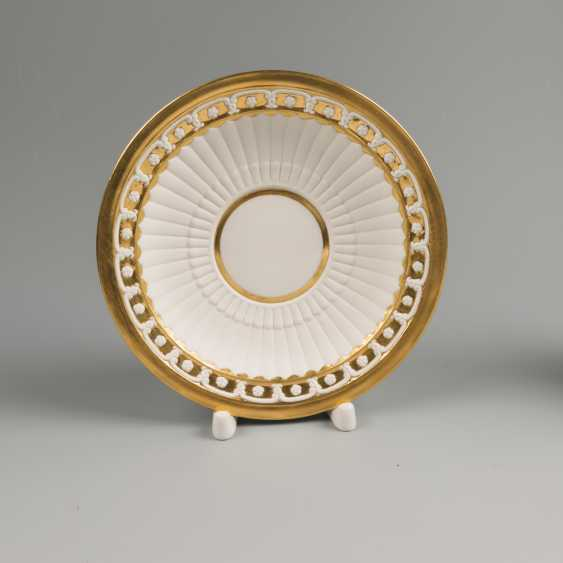 Cup and saucer KPM 19th century - photo 3