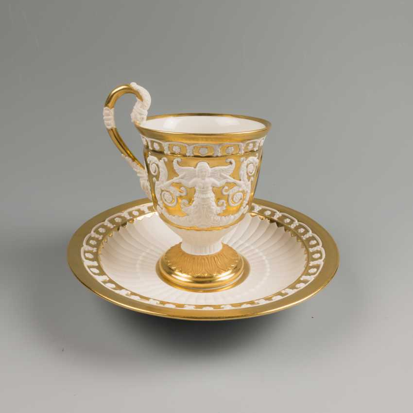 Cup and saucer KPM 19th century - photo 6