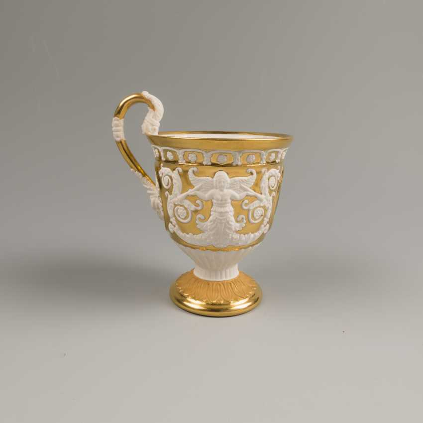 Cup and saucer KPM 19th century - photo 7