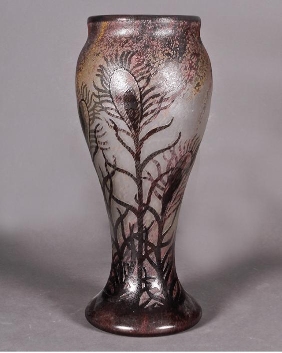Daum vase, France, early XX century - photo 1