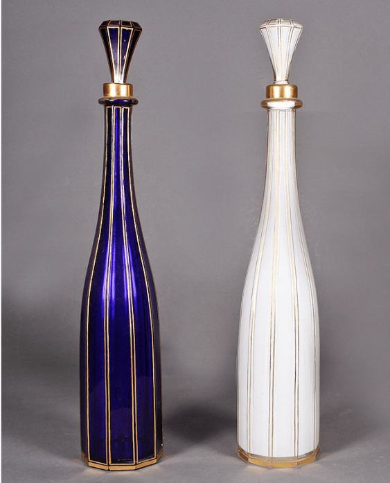 A pair of decanters Western Europe, - photo 1