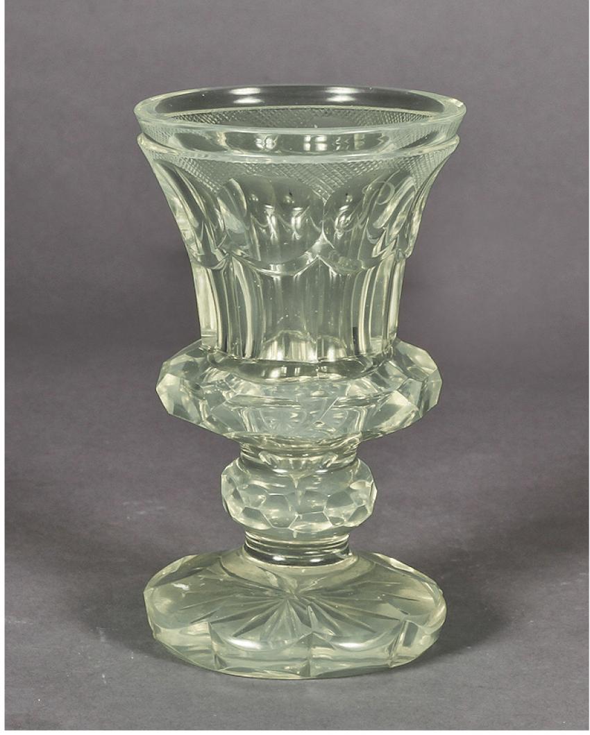 Glass uranium glass France, mid-nineteenth century - photo 1