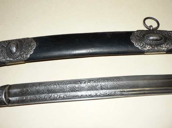 The Cossack sword of St. George,19th century - photo 4