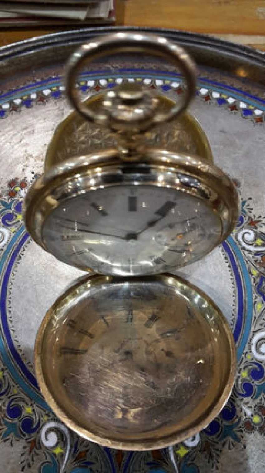 Gold pocket watch Moser - photo 1