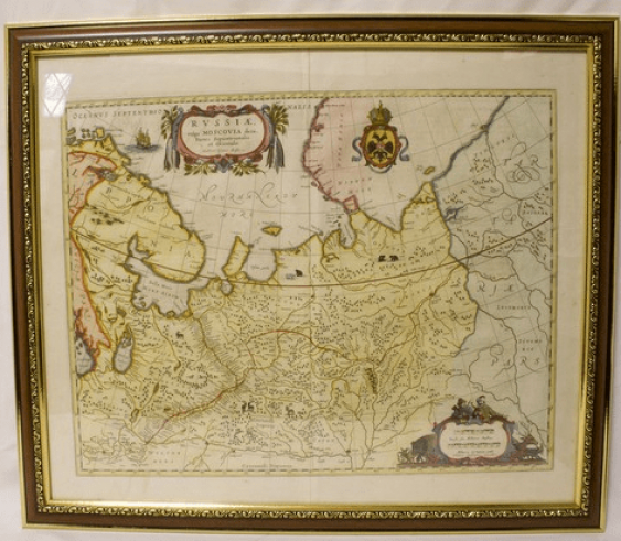 Map of Eastern part of Russia - photo 1
