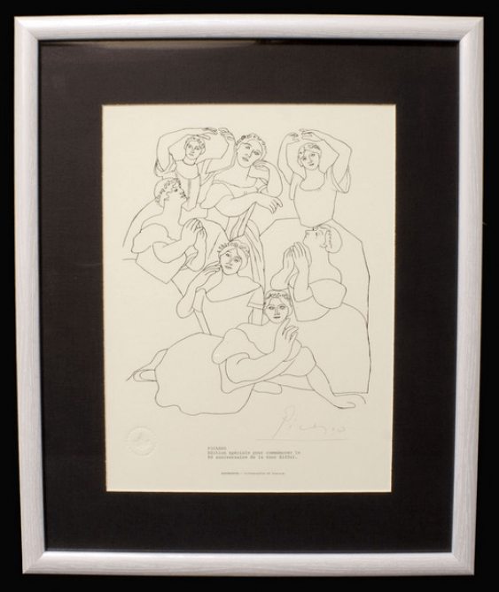 Picasso lithograph, 1969 - photo 1