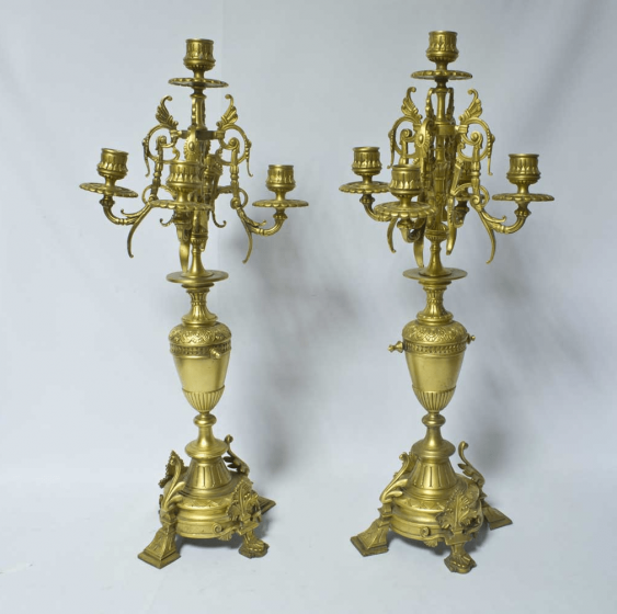 "Candelabra 2 pieces of ""Empire"". - photo 1"